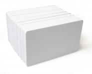 Plastová karta bílá
