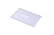 Plastový obal na 1 kartu
