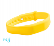Čipový silikonový náramek FIT MIFARE S50 / NFC