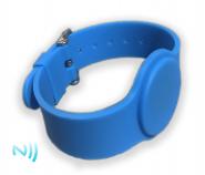 Čipové silikonové hodinky MIFARE S50 / NFC